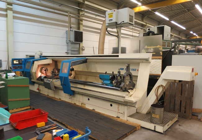 Teach-In lathes VDF BOEHRINGER DUS 560 ti