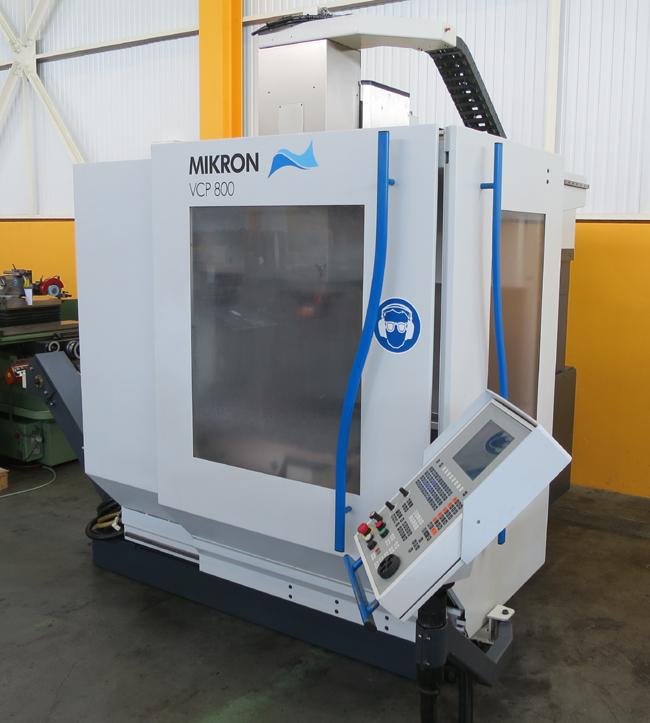 CNC vertical machining centres MIKRON VCP 800