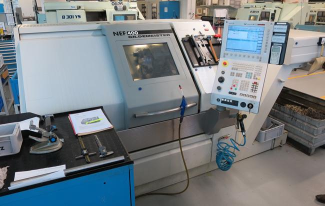 CNC lathes GILDEMEISTER NEF400