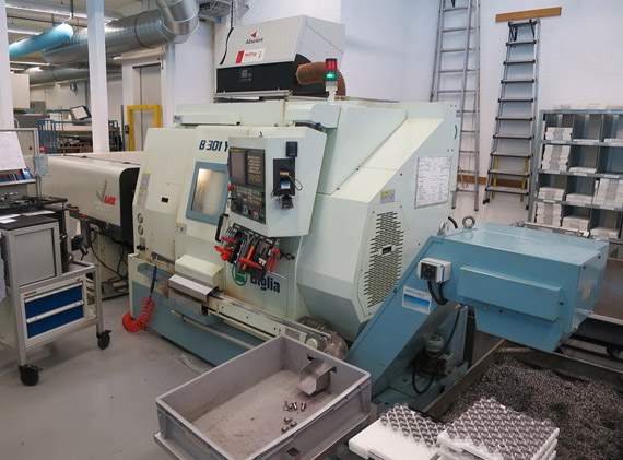 CNC Turning & milling centers BIGLIA B301 YS
