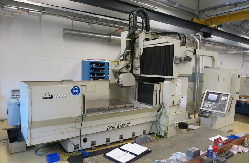 Rectificadoras planas y perfiles con husillo horizontal cnc ZIERSCH & BALTRUSCH Twinmaster 16.100