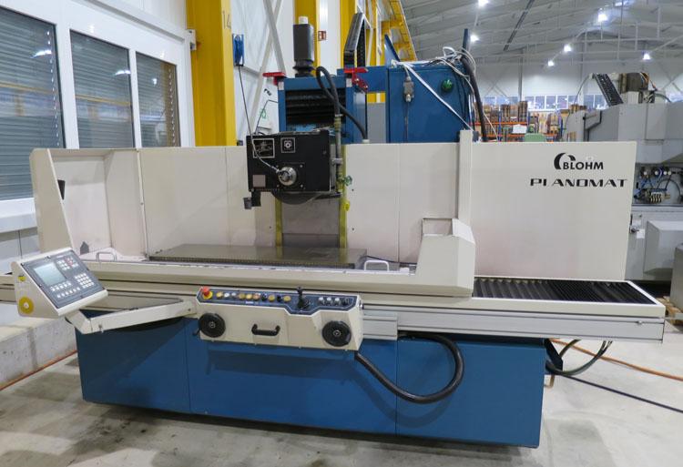 Rectificadoras planas con husillos horizontales con CNC BLOHM Planomat 412