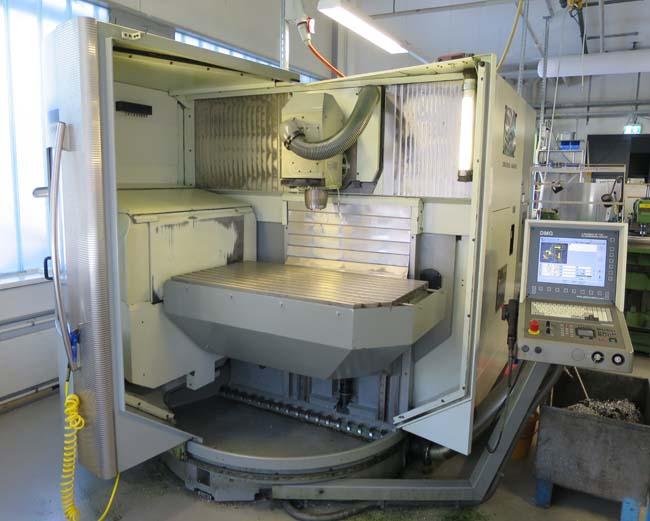 Centros mecanizados verticales DMG DMU80 T