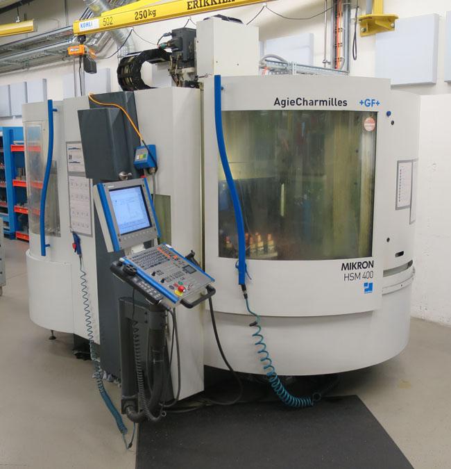 CNC vertical machining centres MIKRON HSM400