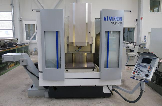 Centros mecanizados verticales MIKRON VCP 710