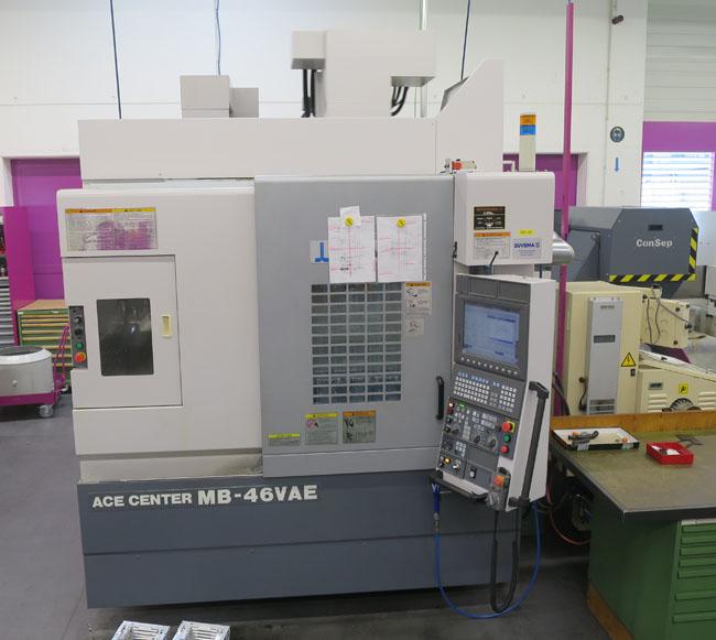 CNC VERTIKAL BEARBEITUNGSZENTREN OKUMA MB-46VAE