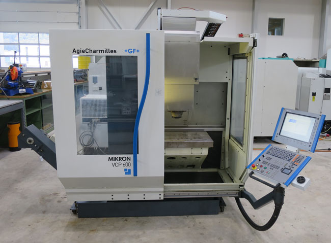 CENTRES D'USINAGE VERTICAL MIKRON VCP600
