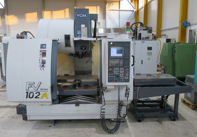 Centros mecanizados verticales YCM FV102 APC