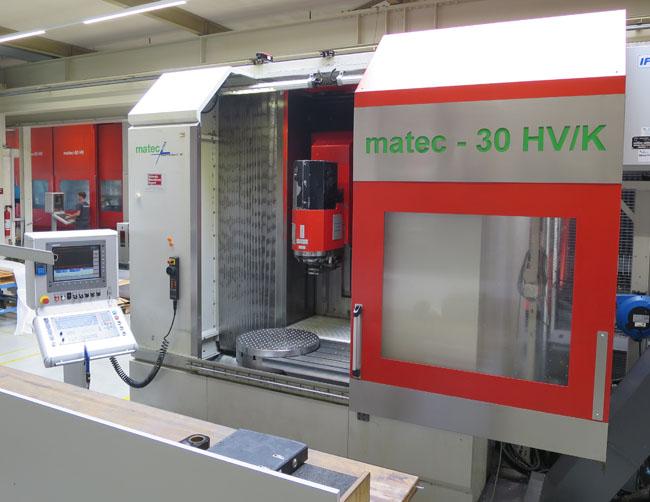 CNC universal machining centers MATEC 30 HV/K/NC