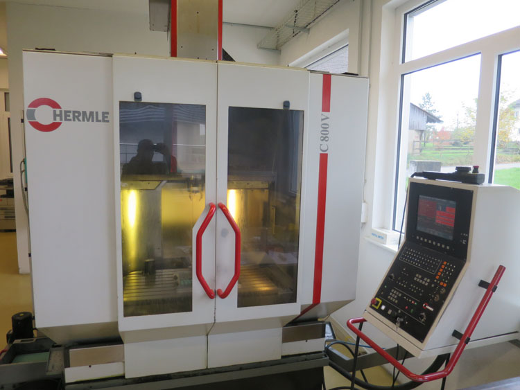CENTRES D'USINAGE VERTICAL HERMLE C800V