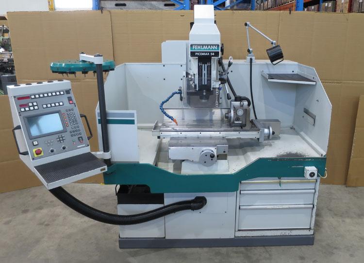 CNC Drilling & Milling machines FEHLMANN Picomax 54