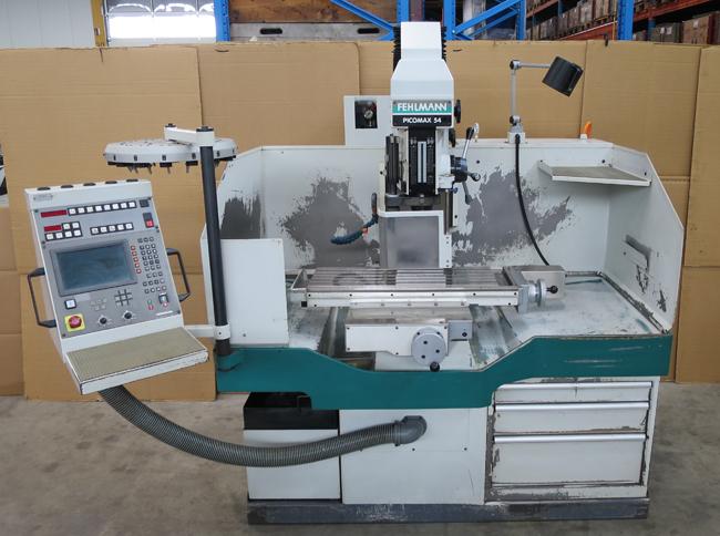 TRAPANI FRESA CNC FEHLMANN Picomax 54