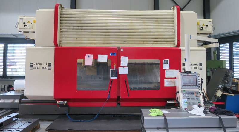 CNC vertical machining centres HEDELIUS BC100-3500