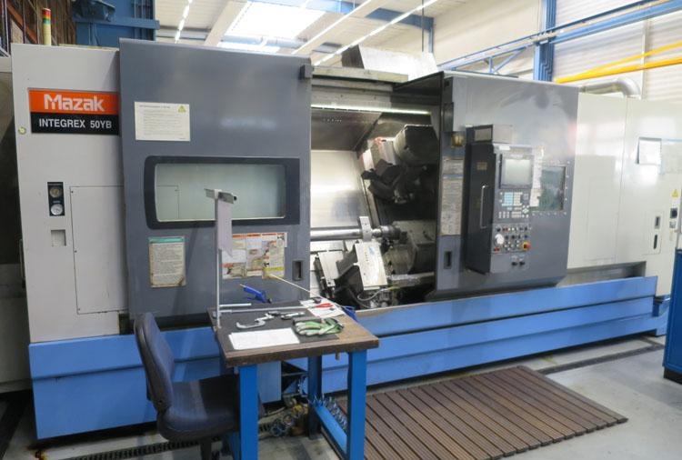 Centros mecanizado para tornear y fresar MAZAK Integrex 50YB U2000