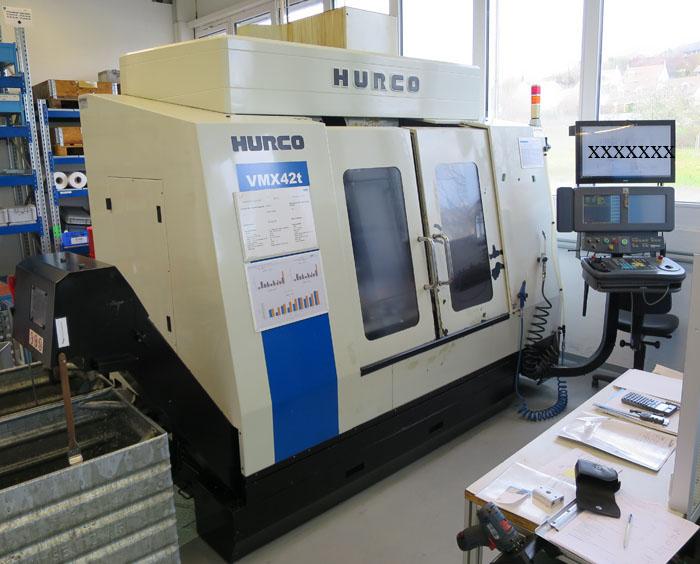 CNC VERTIKAL BEARBEITUNGSZENTREN HURCO VMX42