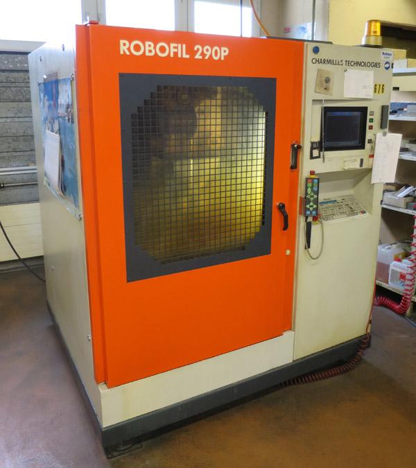CNC Wire spark erosion machines CHARMILLES Robofil 290P