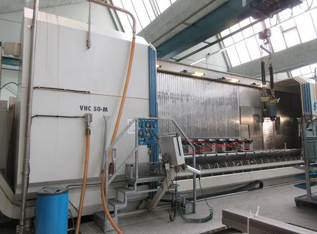CENTRES D'USINAGE VERTICAL AXA VHC-50-6000-M/2E